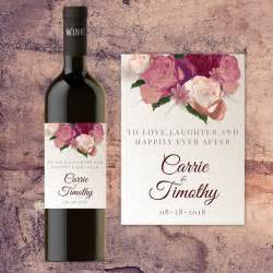 bridesmaid wine labels best 25 wedding wine labels ideas on personalized wine labels custom wine labels