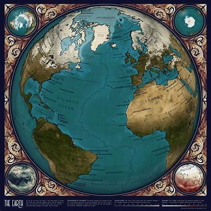 Earth Map Animated Space Maps Atlas Data