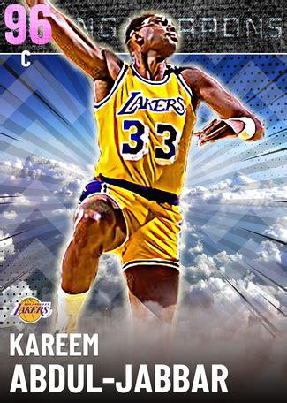 kareem abdul jabbar nba  custom card kmtcentral