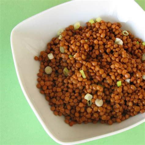cuisine lentilles recette salade de lentilles rapide