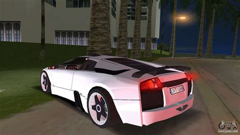 lamborghini murcielago  tuning  final  gta vice city