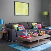 69 Fabulous Gray Living Room Designs To Inspire You Decoholic All Rooms Living Photos Living Room Turquoise Living Room Turquoise Living Room Wall Decor Design Decor Living Rooms Moreover Paint Colors On Beautiful Floors And Wall Color