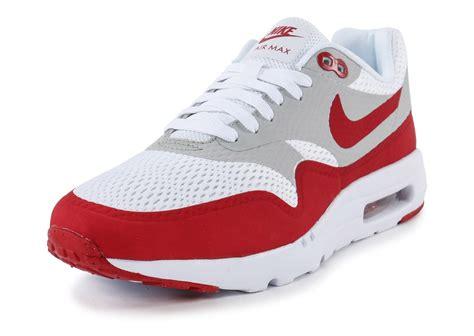 air max blanc nike air max 1 ultra essential blanc chaussures homme chausport