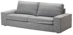 sofa kivik 2 plazas segunda mano reposapies kivik dansbo beige posot class