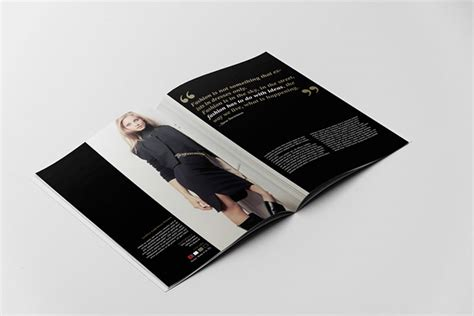 beautiful indesign fashion brochure templates bashooka