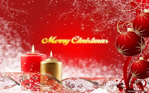 Merry Christmas Desktop Wallpaper Wallpapersafari