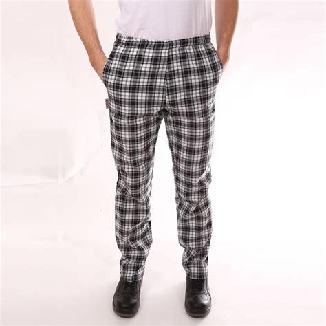 pantalon de cuisine gros carreaux