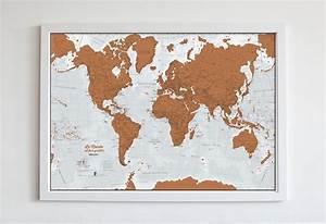 Carte Du Monde à Gratter Maison Du Monde : shopping d co la mappemonde gratter ~ Teatrodelosmanantiales.com Idées de Décoration