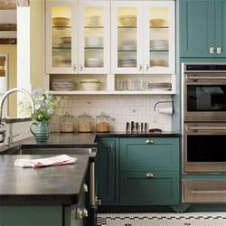 island kitchens stylish two tone kitchen cabinets for your inspiration hative
