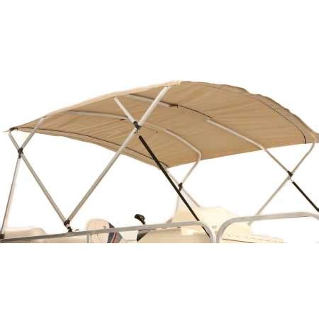 Pontoon Boat Bimini Top With Frame by Attwood Square 4 Bow Pontoon Bimini Top Frame Only