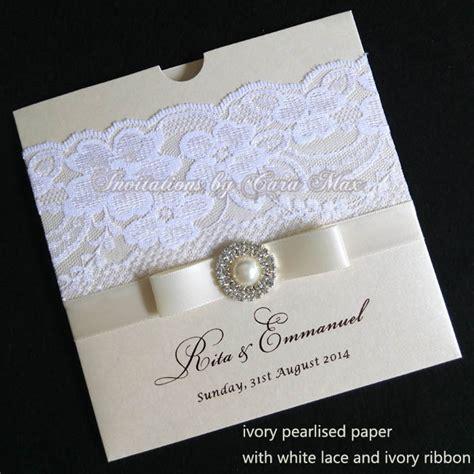 Aliexpress com : Buy CA0611 Ivory Lace Wedding Invitations