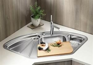 Spülbecken Für Küche : mehrwert f r die ecke in der k che mit blanco ecksp len ~ A.2002-acura-tl-radio.info Haus und Dekorationen