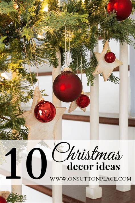 10 christmas decor ideas on sutton place