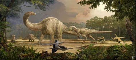Dinosaurs And Ancient Life Artwork, Murals, Illustrations