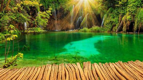 croacia parque cascadas de plitvice fondos de pantalla