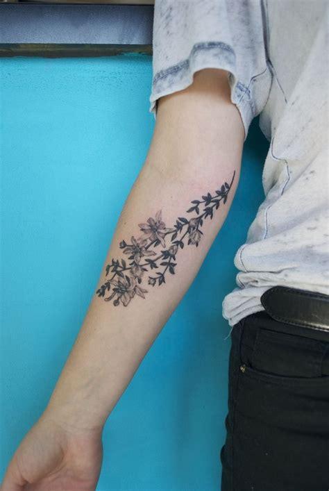 ideas  floral arm tattoo  pinterest