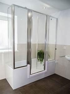 Umbau Badewanne ALS Dusche BADbarrierefrei Schweiz