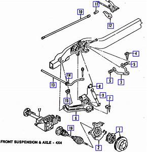 Where Can I Find A Diagram Of The Front Suspension System