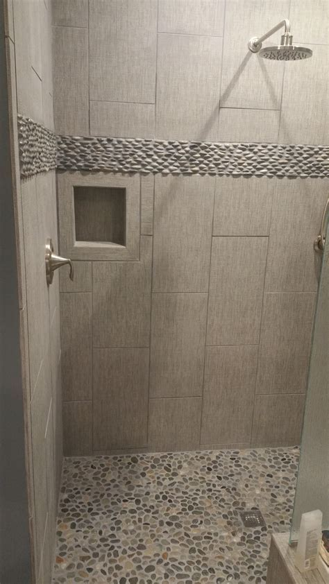 Java Tan Standing Pebble Tile   Subway Tile Outlet
