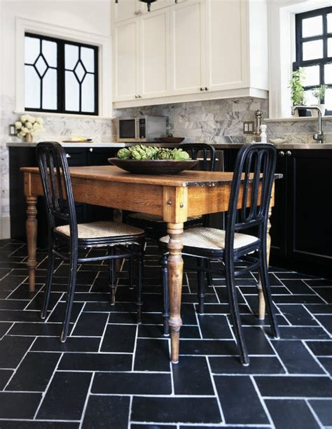 black and white floor tiles kitchen black and white tiles kitchen 2017 grasscloth wallpaper 9270