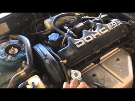 replace  timing belt   eclipse   part  youtube