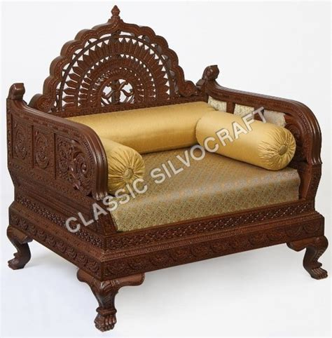 Chair India by Indian Carved Furniture Carved Sofa Diwan Chair Indian