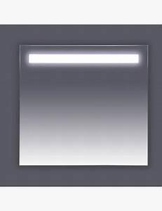 miroir lumineux 120 cm pour salle de bain avec bandeau led With miroir bandeau lumineux salle de bain