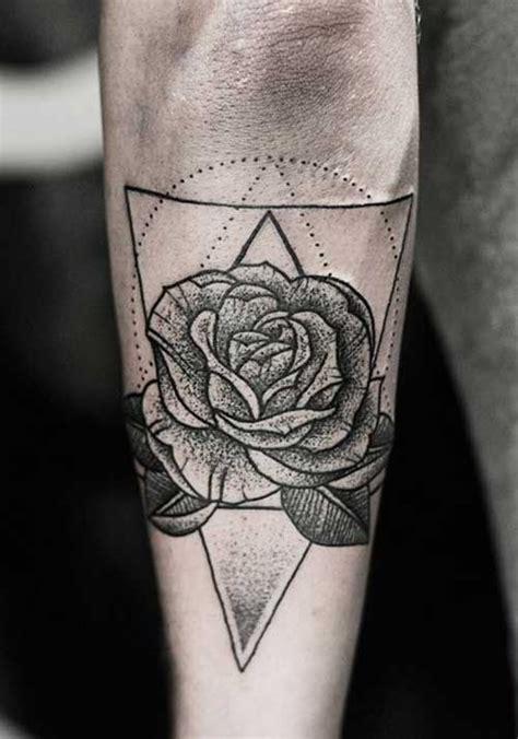geometric flower tattoos google search tatuajes