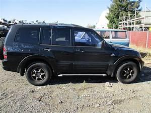 2002 Mitsubishi Montero Limited Black 3 5l At 4wd 163765