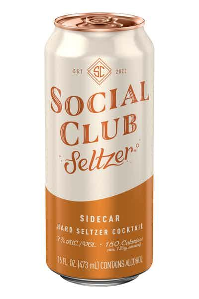 Social Club Seltzer Sidecar Price & Reviews | Drizly