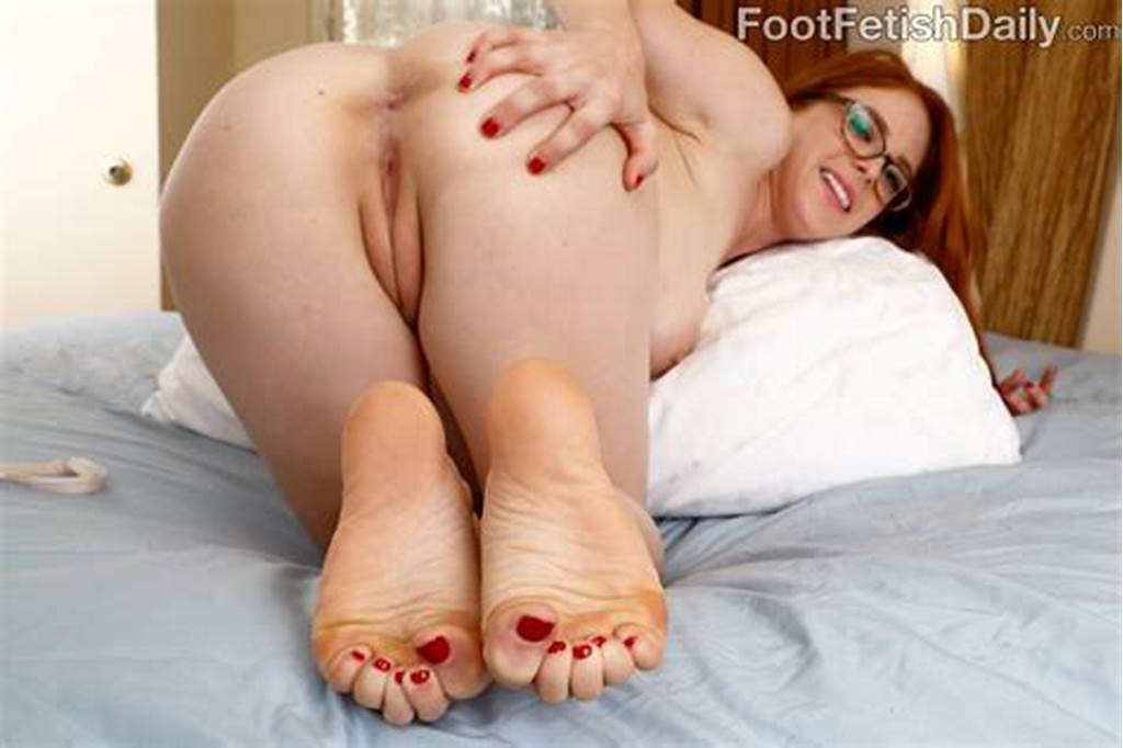 #Hot #Redhead #Penny #Pax #Wraps #Her #Sexy #Feet #Around #A #Black #Cock