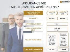 2 raisons d ouvrir un contrat d assurance vie apr 232 s 70 ans