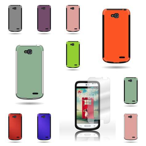 lg optimus phone cases for lg optimus l90 tough tpu hybrid phone w screen