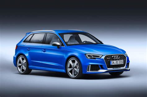 Updated Audi Rs3 Hatch Gets 394bhp