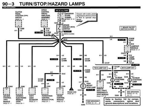 Wiring Diagram Ford Explorer Break Lights Forums