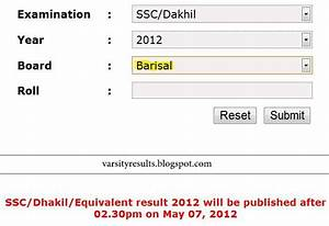Best Education Online  Ssc Exam Results 2012 Barisal Board
