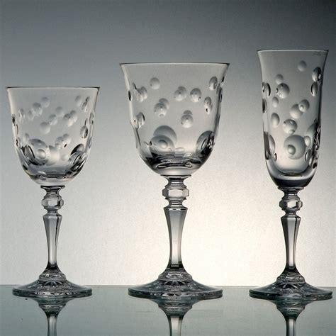 verre en cristal verres en cristal design x6