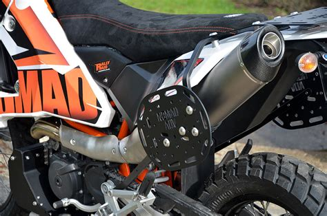 ktm  soft luggage rack