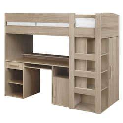 lit superposé avec bureau intégré conforama des lits superposés et des mezzanines que les enfants adorent