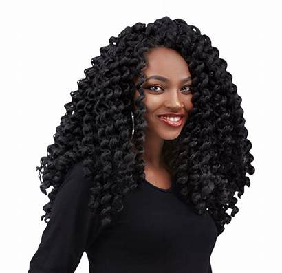 Kinky Crochet Curly Hair Afro Twist Hairstyles