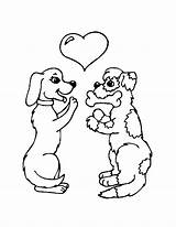 Coloring Pages Dog Dogs Poodle Pdf Street Sheets Cat Puppy Printable Cocker Spaniel Format Popular Coloringhome Valentine Valentines Teddy sketch template
