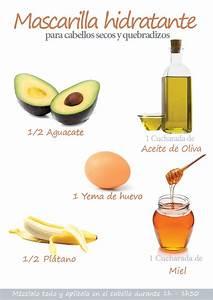 Mascarilla hidratante para cabellos secos y quebradizos for La mejor receta casera para hidratar el pelo seco