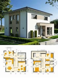 Haus Bauen Ideen Grundriss : modernes einfamilienhaus mit galerie walmdach ~ Orissabook.com Haus und Dekorationen