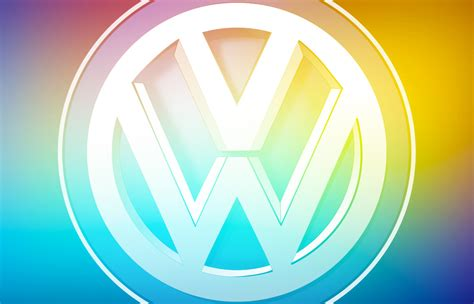 brand  vw warns   logo