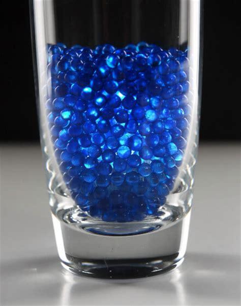 vase gems pearl blue lb