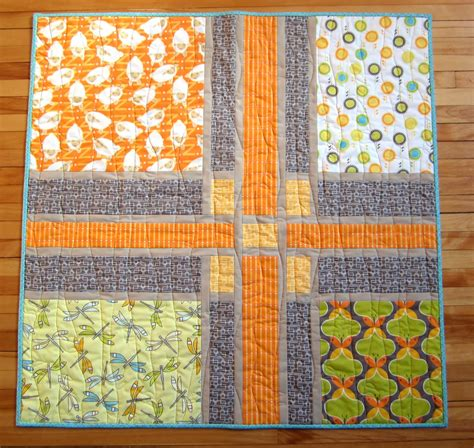 baby quilt patterns mini mushrooms craftsman baby quilt featuring
