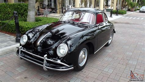 1959 Porsche 356 A Coupe, Black With Red, Restored Car