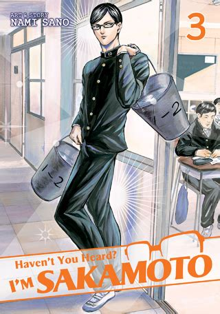 Havent You Heard Im Sakamoto Vol 2 By Nami Sano Seven Seas Entertainment T You Heard I M Sakamoto