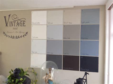 Vintage Farben Wand by Kreidefarbe Vintage Grey Die Feenscheune
