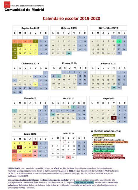 calendario escolar mas de calendarios